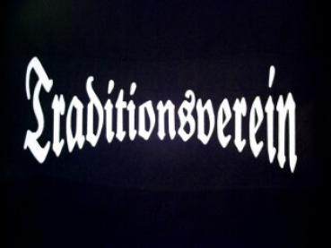 Sweatshirt Traditionsverein schwarz