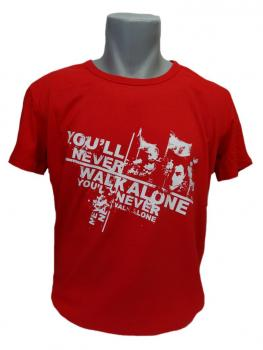 T-Shirt You'll never walk alone Faces rot