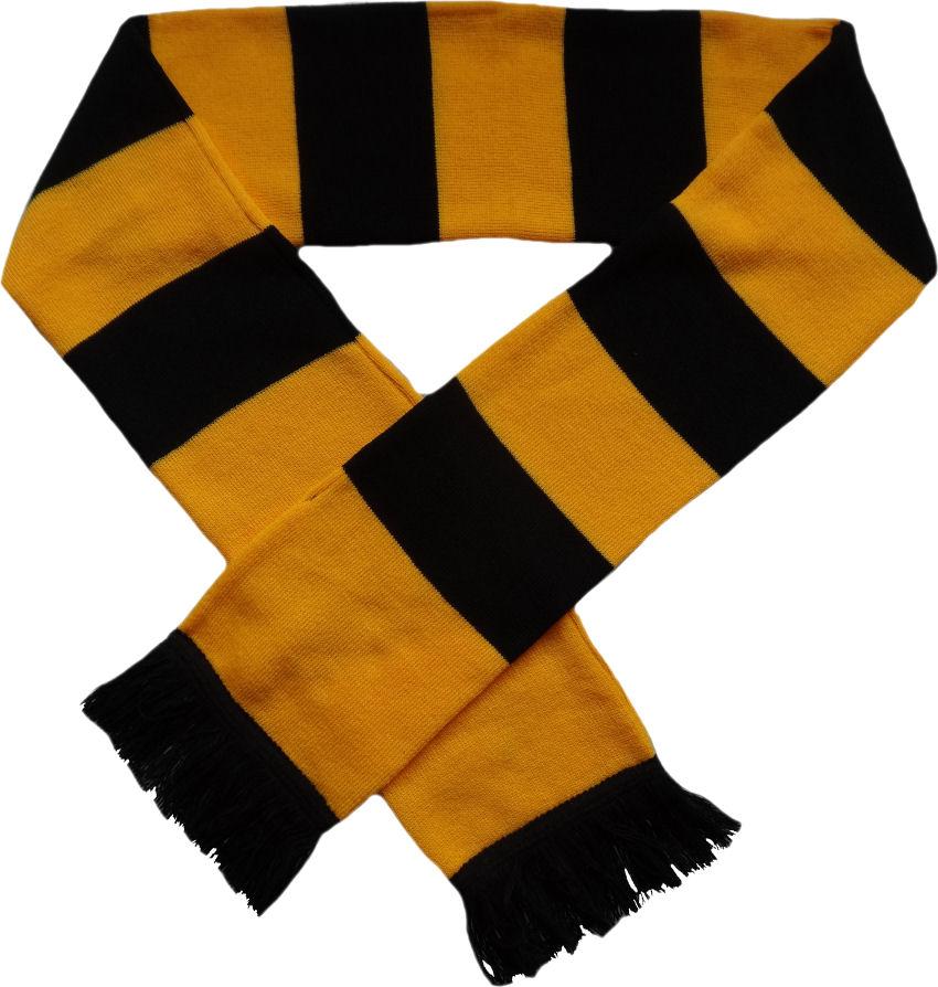 ultras schal gelb schwarz balkenschal